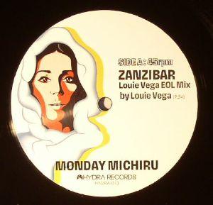 "Monday Michiru Zanzibar/Brasilified 12"" Remixes by Louie Vega, 4MuLA, Yukihiro Fukutomi"