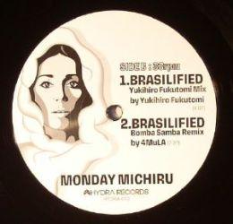 """Monday Michiru Zanzibar/Brasilified 12"""" Remixes by Louie Vega, 4MuLA, Yukihiro Fukutomi - SIDE B"""